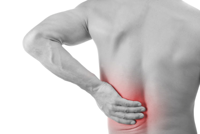 Severe low back pain