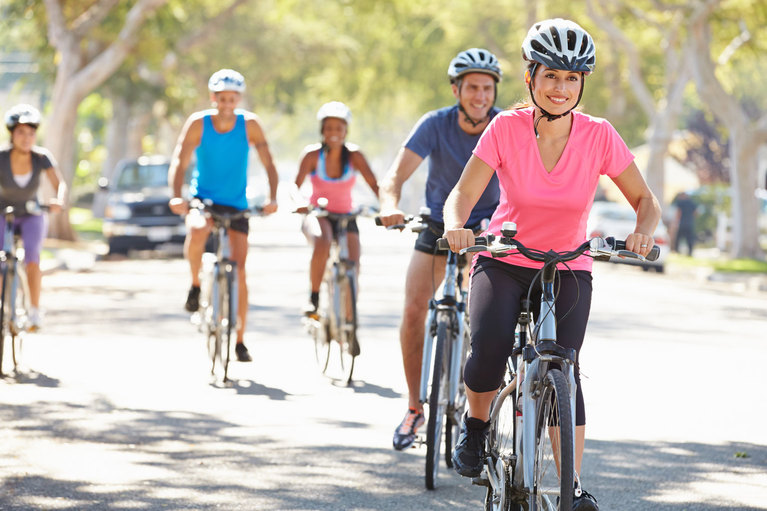 Exercise, activity, cycling