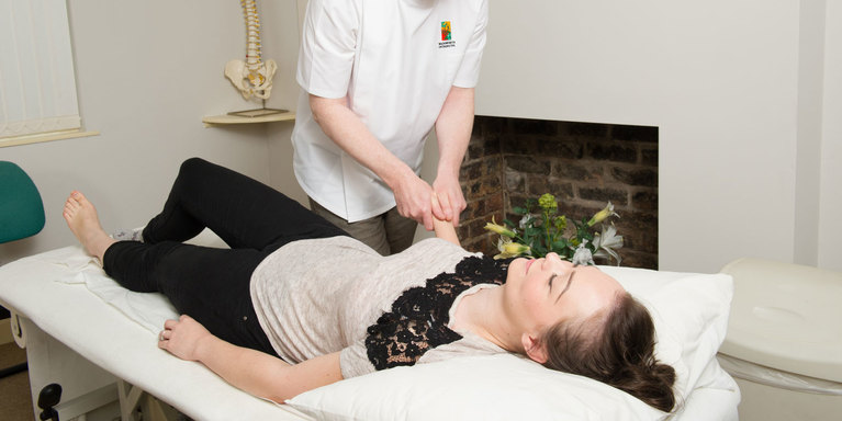 Wadsworth Osteopaths, treatment room